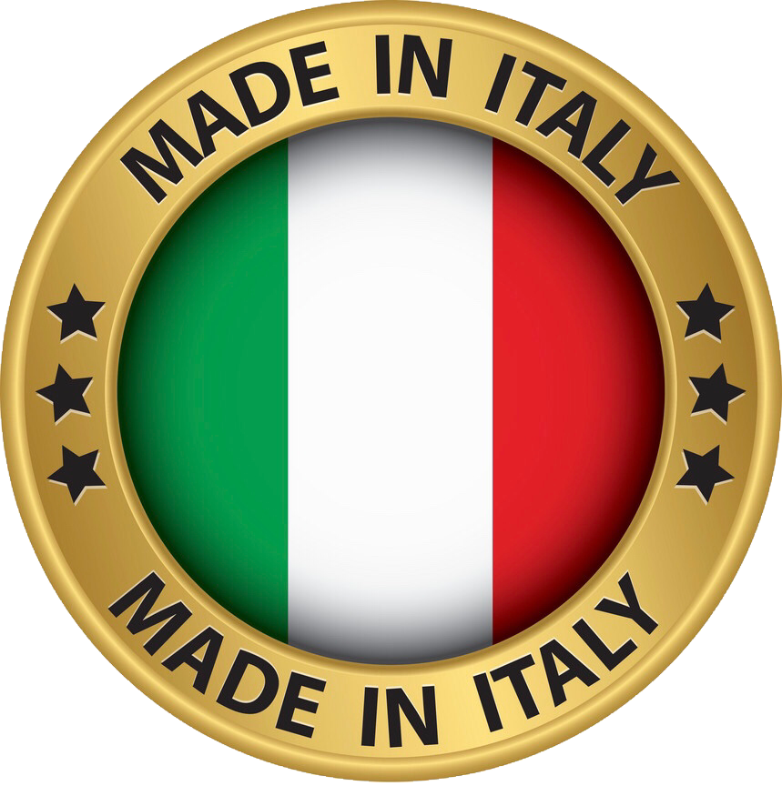 MADE IN ITALY GOLD BADGE
